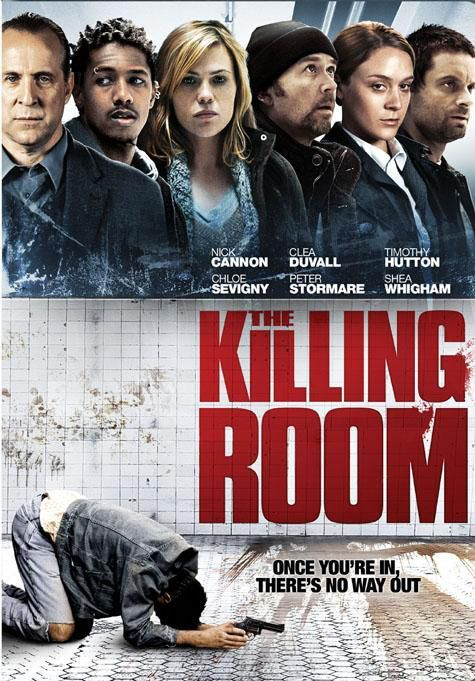 Olum Odasi - The Killing Room - 2009 - DVDRip Film Afis Movie Poster