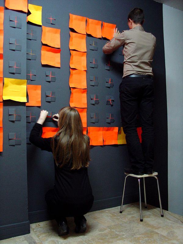 pared con textura y transformable...