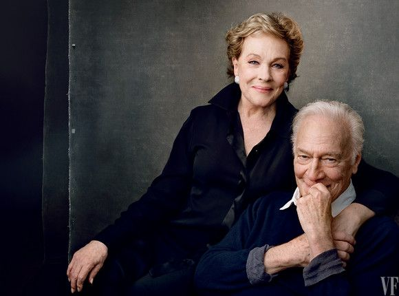 Julie Andrews / Christopher Plummer photographed by Annie Leibovitz 50th Anniversary of The Sound of Music 2015