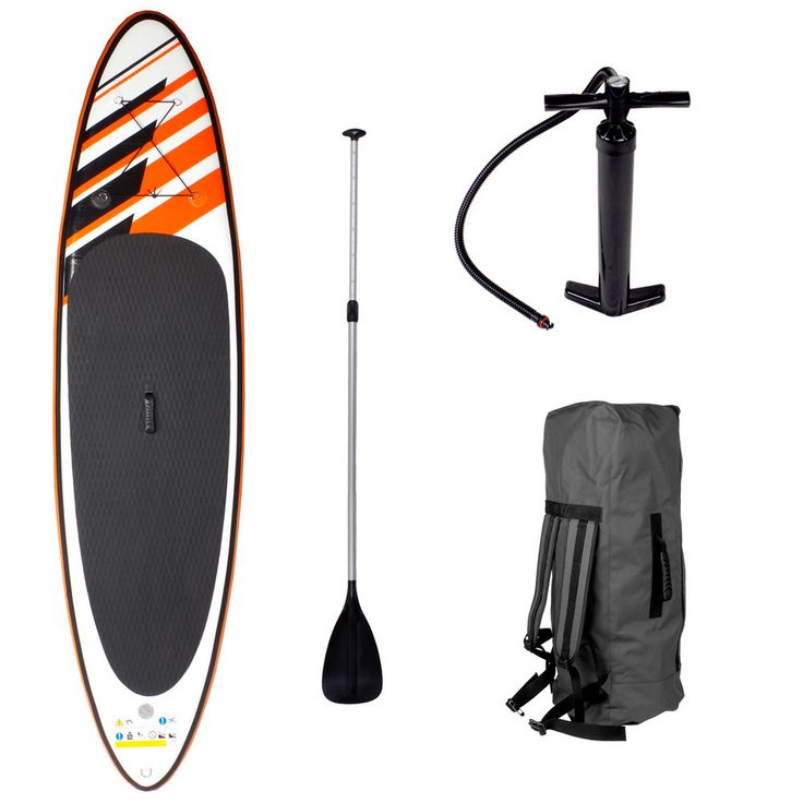 SUP Board Stand Up Paddle Surf-Board aufblasbar inkl. Paddel ISUP Paddling 300cm in Sport, Weiterer Wassersport, Wellenreiten   eBay!