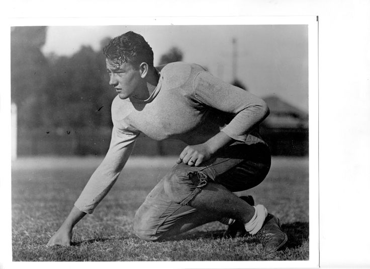 Marion M.'Duke'Morrison~ Glendale High-school football player..