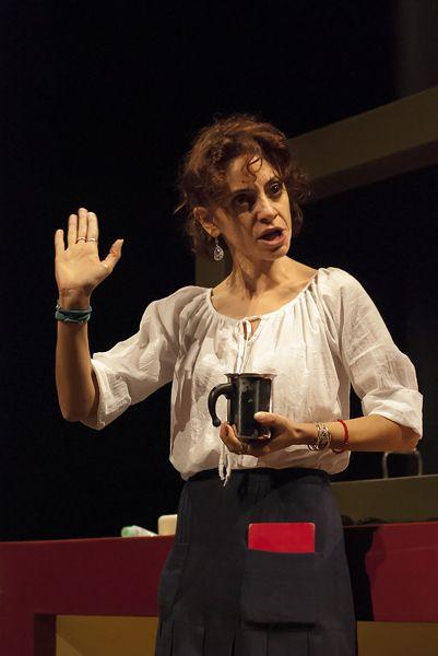 Anna Mastino in La morte di Ivan Il'ic di #Tolstoj TeatroLieve, ottobre 2013 Foto di Massimo Fonsatti