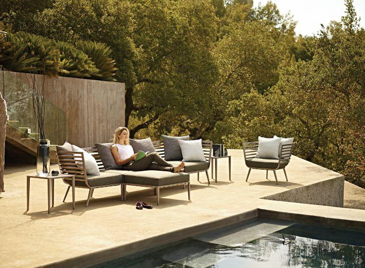 23 best Steel  Aluminum Furniture images on Pinterest Backyard