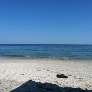Chocomount Beach, Fishers Island NY..... No life guards, Bonfires on the beach....