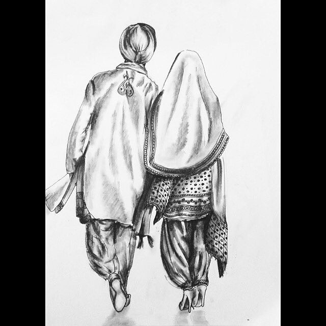 beautiful drawing by @jags_bahra