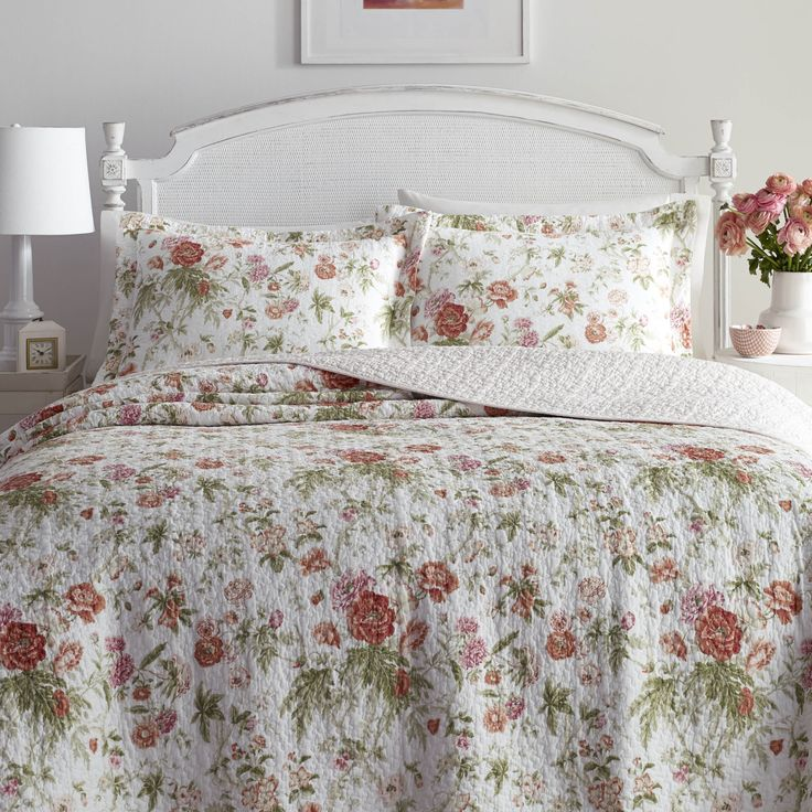 Laura Ashley King Bed Quilts