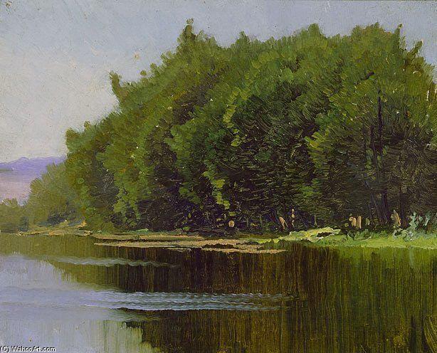 Paysage de Elioth Gruner (1882-1939, New Zealand)