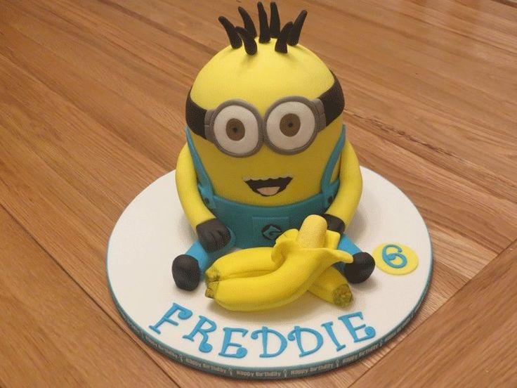 Dave minion cake