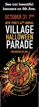 New York's 42nd Annual Village Halloween Parade!