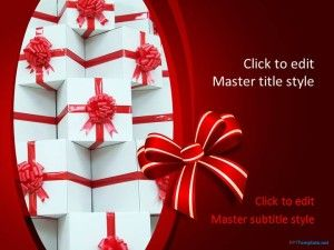 40 best christmas powerpoint template images on pinterest plants free gifts ppt template toneelgroepblik Image collections