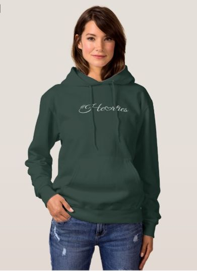 Keep warm with a #Hearties hooded sweater. Then get ready for a new original When Calls the Heart Christmas movie on Hallmark Channel!
