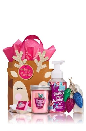 Twisted Peppermint Hands & Home Gift Kit - Signature Collection - Bath & Body Works
