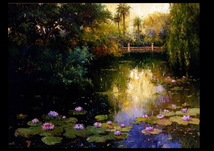 "Saatchi Art Artist Roman Frances; Painting, ""PARQUE"" #art"