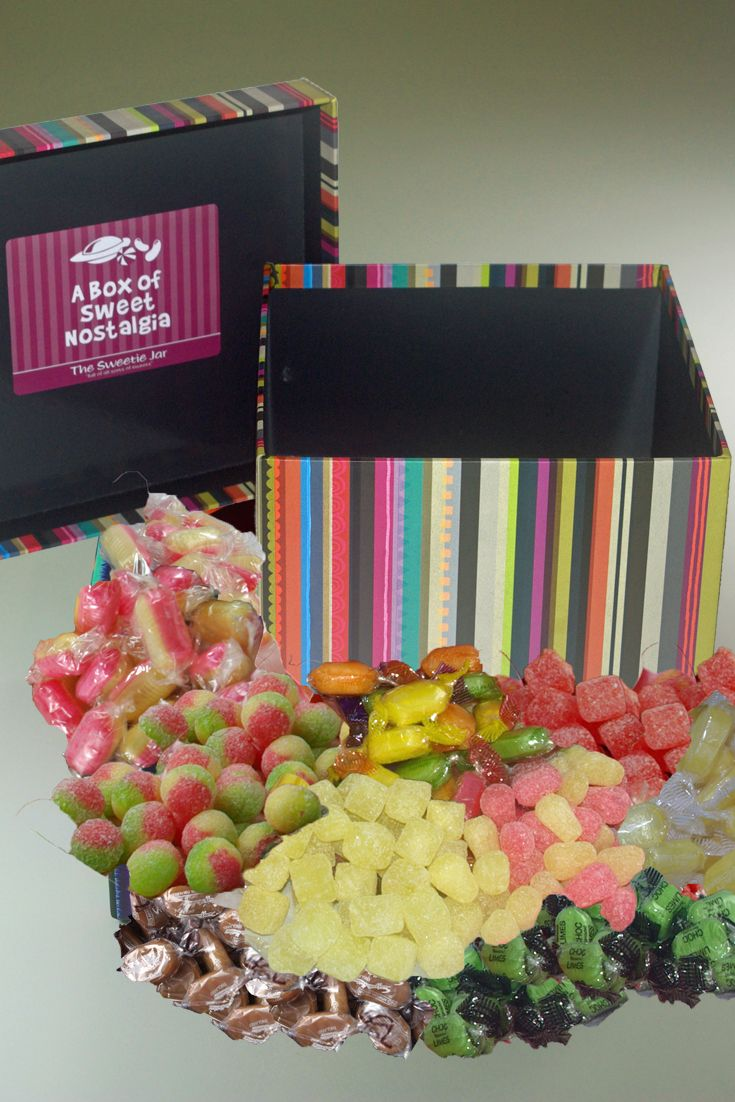 Delicious Retro Sweets Gifts: Sweet Hampers & Boxes
