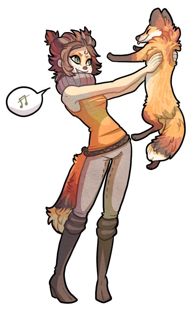 Foxes by griffsnuff.deviantart.com on @DeviantArt