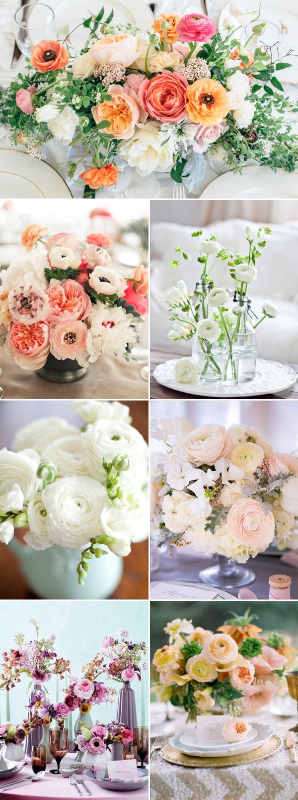 30 Beautiful Wedding Ideas that Use Ranunculus!
