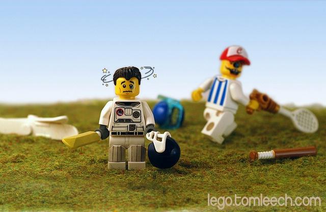 #Legolympics 3012: Brockian...    Share and Repin if you like this. Thanks