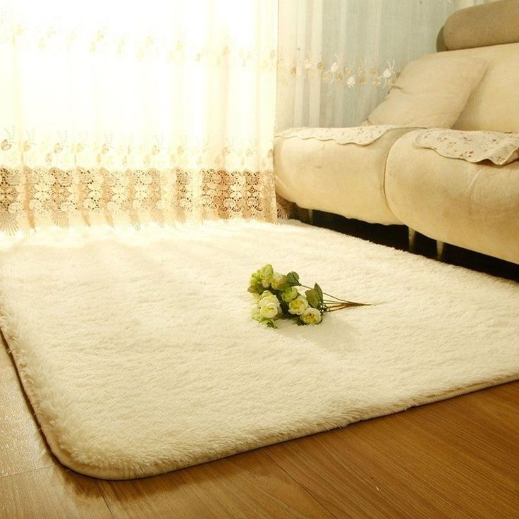Fashionable wool carpet for the dining room bedroom car Shaggy ivory rug | Дом и сад, Паласы и ковры, Ковры на пол | eBay!