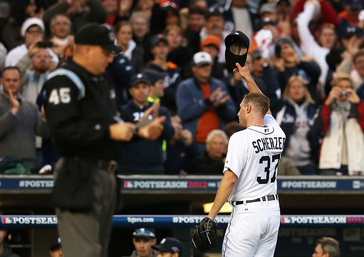 Max Scherzer pitches the Tigers right into the Fall Classic.
