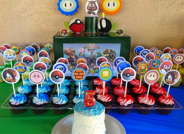 35 Best Super Smash Brothers Party Ideas Images On