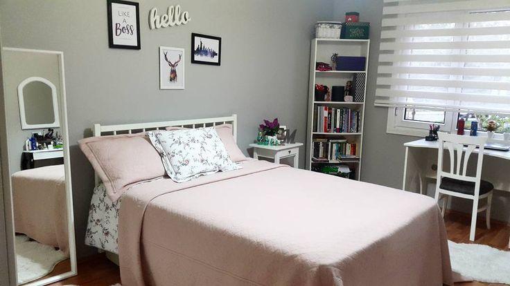 Hayırlı akşamlar ramazanın üçüncü günü keyifler nasıl hanımlar�� geçen gün kızımın odasını paylaşmıştım çok soru geldi bende burdan cevap vermek istedim yatak bazalı bazaları başlığını mobilyacımızda yaptırdık ben fazla eşyalarımızı koymak içın bazalı yatakları tercih ederim herzaman çok rahatlık oluyor içi baya bir eşya alıyor biz çok memnunuz yeni yatak odası almak isteyen arkadaşlara fikir olsun �� ������ #roomforgirl #girlroom #ikea #roomdecor #bedroom #bedroomdetails #interior…