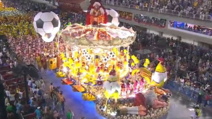 Desfile Imperatriz Leopoldinense 2014 #ParabensZico ( Completo HD )