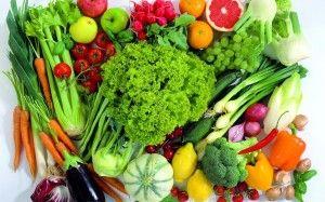 groente en fruit bevatten veel vezels Vezels zijn goed voor je gezondheid. Het is goed voor de compositie van de bacteriepopulatie in je darmen. Het helpt om je voedsel door de darm te pompen. Bovendien zorgen vezels ervoor dat suiker en zetmeel langzamer in je bloed arriveren. Je