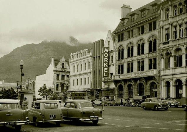 Church Square, Apartheid Era. It is useful to understand the urban geography of church square and how it informs the current space and the memorials existence.