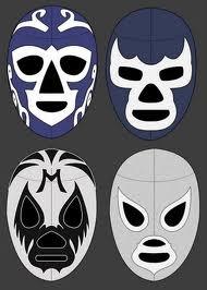 mascara luchador huracan Ramirez Blue Demon Mil Mascaras el Santo