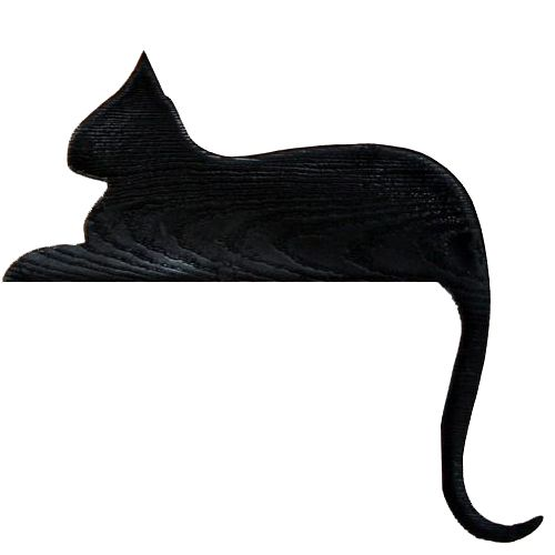 Cat Rester Door Topper Silhouette