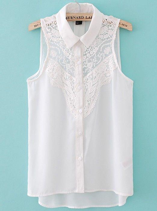 Lace Front Shirt