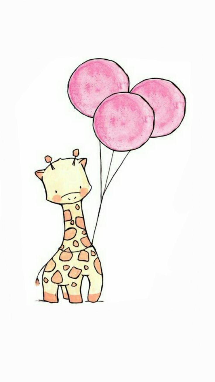 милый жираф картинка милый она должна