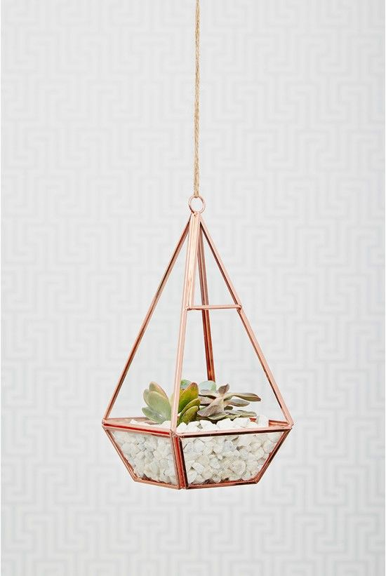 Oola Rose Gold Terrarium £20.00