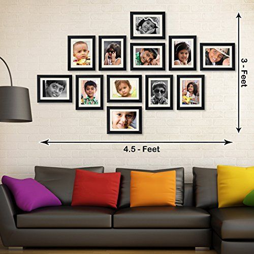 Online deal for 163.00 for photo frame   ART STREET Black Table Photo Frame 5×7 photo size   from amazon.in online shopping