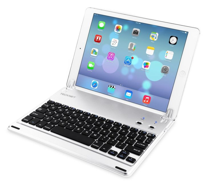 iPad Air Bluetooth Keyboard Cover  Ultra-Slim Wireless Bluetooth Keyboard (US Keyboard Layout) with Built-in Stand  Groove For Apple iPad Air With 110 Degree Swivel Rotating  #ipad #Apple #Deals #BlackFriday #dealoftheday #shopping #blackfriday2017 #bonanza #shoppingonline #Amazon #ebay #bluetooth #keyboard #electronics
