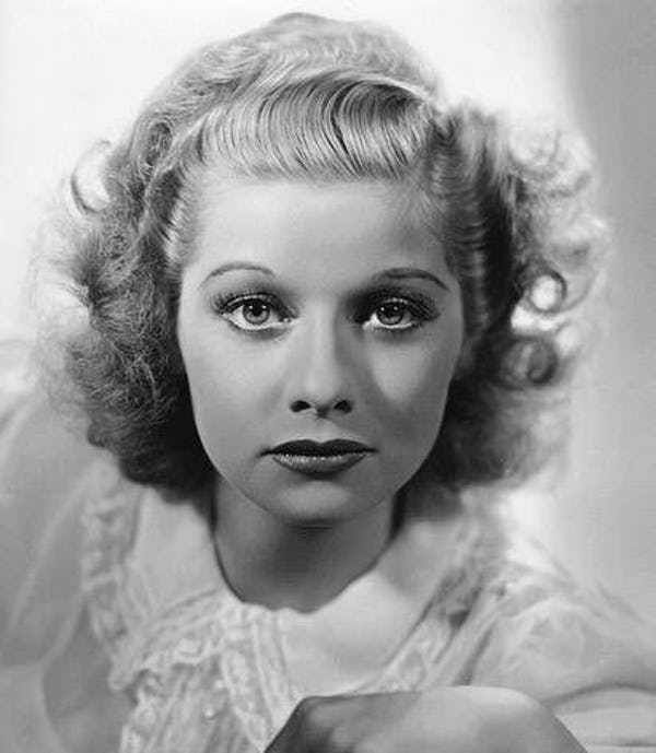 24 Pictures of Young Lucille Ball | Lucille ball, I love lucy ...