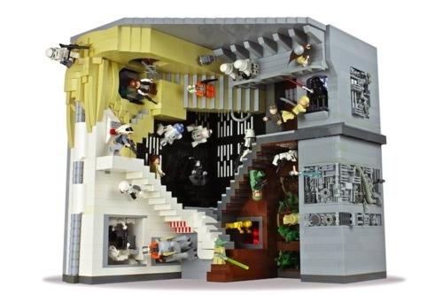 Escher + LEGO + Star Wars. Por Roiz.... | Chilango.comLego Star Wars, Mcescher, Lego Stars Wars, Wars Relatable, Escher Relatable, Mc Escher, Legostar, Paul Vermeesch, Starwars