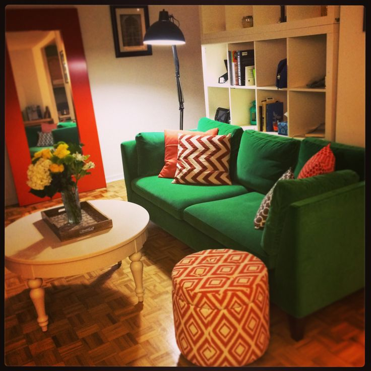 31 Best Images About Orange And Green Living Room On Pinterest