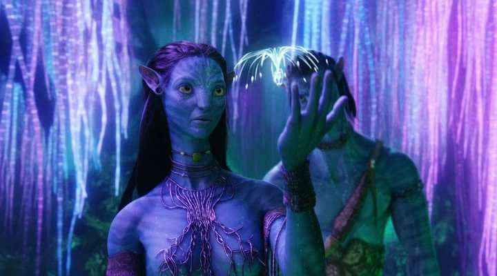 Avatar Neytiri  Blue-Skinned People  Avatar Movie -4501