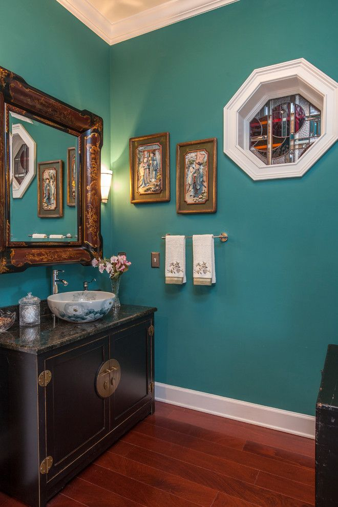 Decorative Vanity Powder Room Image Decor In Powder Room