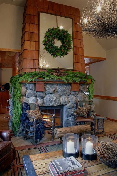 doesn't everyone love a roaring fireplace . . .