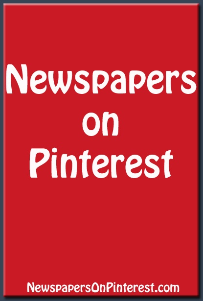 Alphabetical list of newspapers on Pinterest. http://www.newspapersonpinterest.com #journalism
