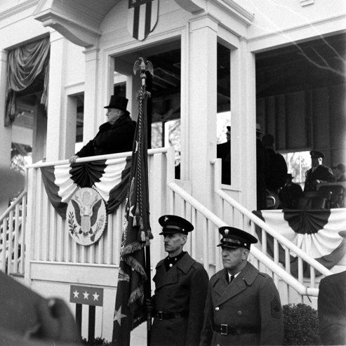 1940: President Franklin Roosevelt elected for a third term, being the first and only president to hold that honor. #TurnofStyle Photo: Life.Time.com