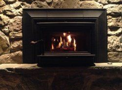 12 Best Images About Log Home Fireplace On Pinterest