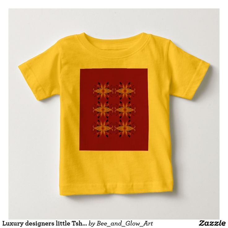 Luxury designers little Tshirt FOLK YELLOW