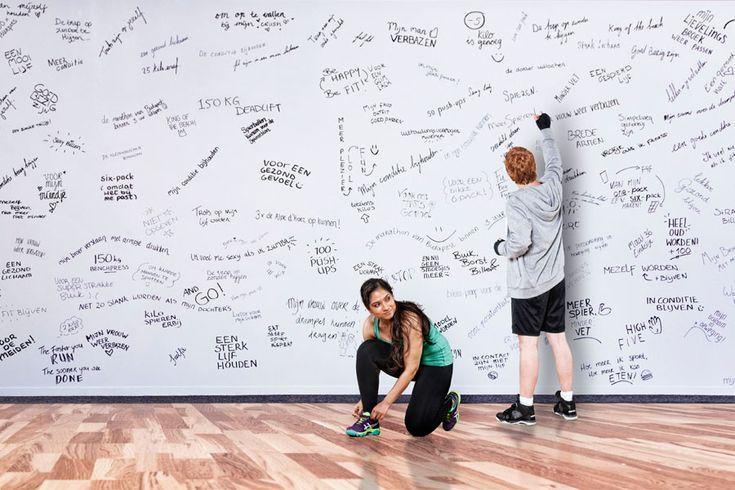 Sport-motivatie-muur | Lifestyle Blog