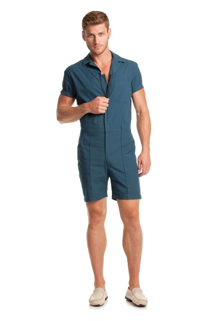 Daniel here was a little tired of wearing the same button down and pants so we got to talking about why we couldn't build a better product and make a romper available for men that's cool and fun and different and is a conversation starter at the end of the day.