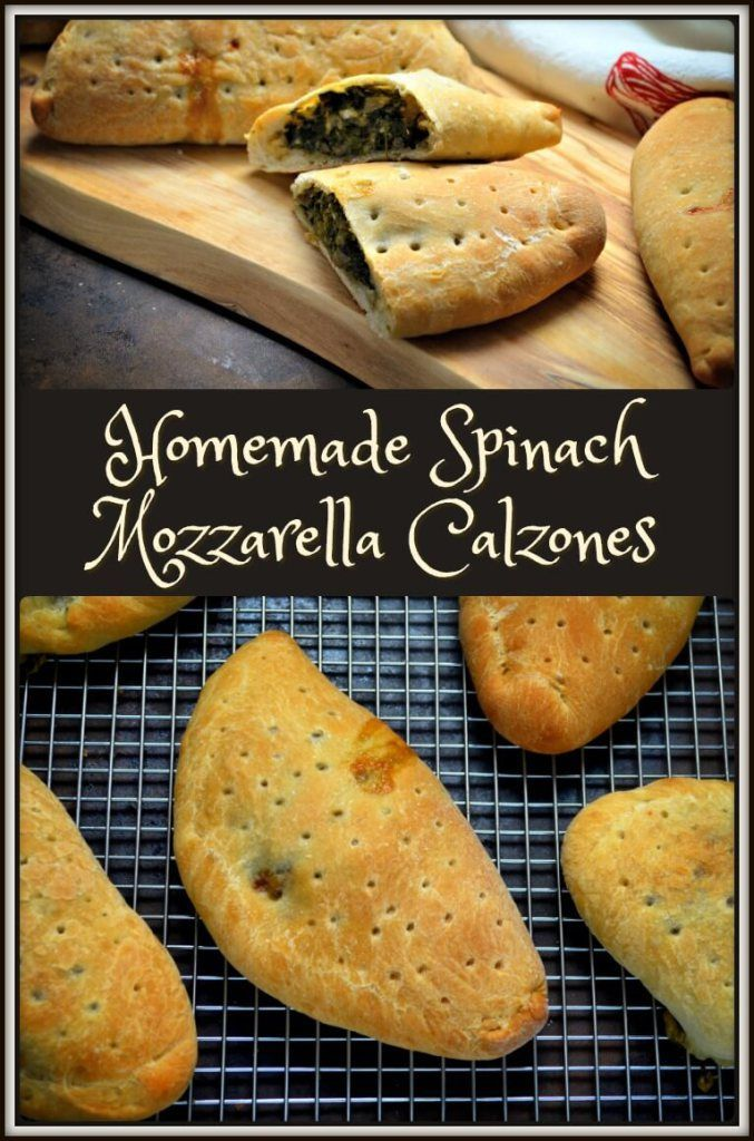 """You will be presently surprised to learn that making Homemade Calzones is a lot easier than you think. They freeze wonderfully and are a great solution to that timeless question, """"What do I pack for lunch""""?"""