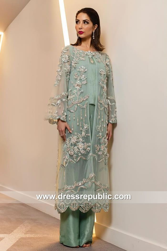 8f9ad43941 Pale Aqua Ritzy | Pakistani Wedding Guest Dresses UK | Dresses, Wedding  guest dresses uk, Fashion