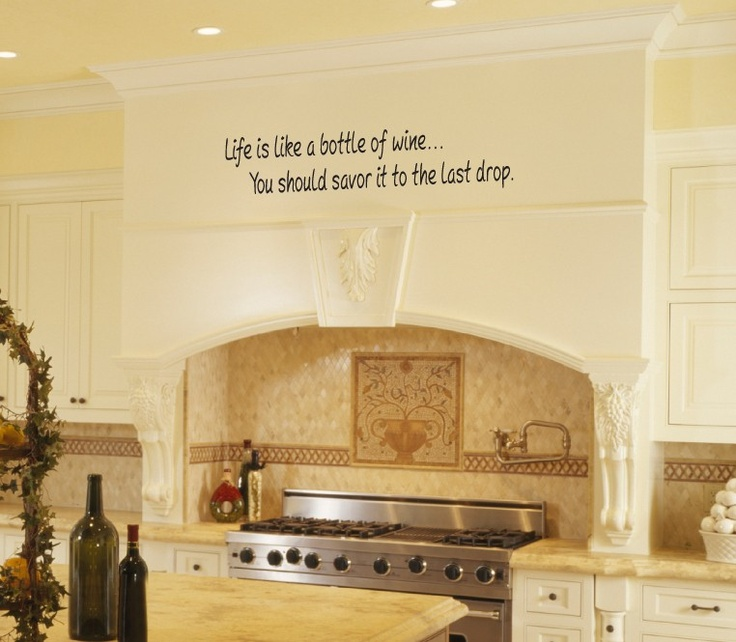 196 best Wall Decals images on Pinterest | Home ideas, Kitchen wall ...